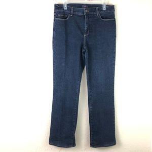 NYDJ Not Your Daughter Jeans Sz 12 Dark Wash Stret